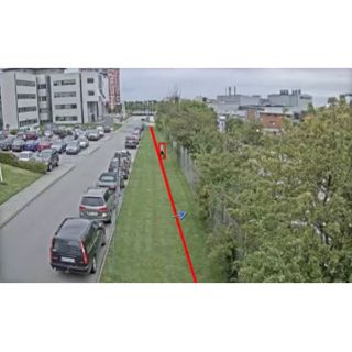 ACAP FENCE GUARD 1P E-LICENSE Analysemodul Fence Guard